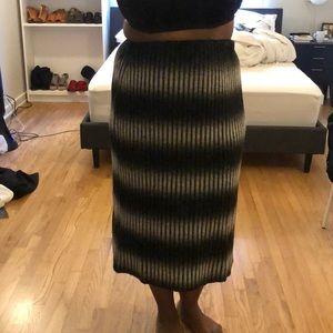 ASOS sweater skirt